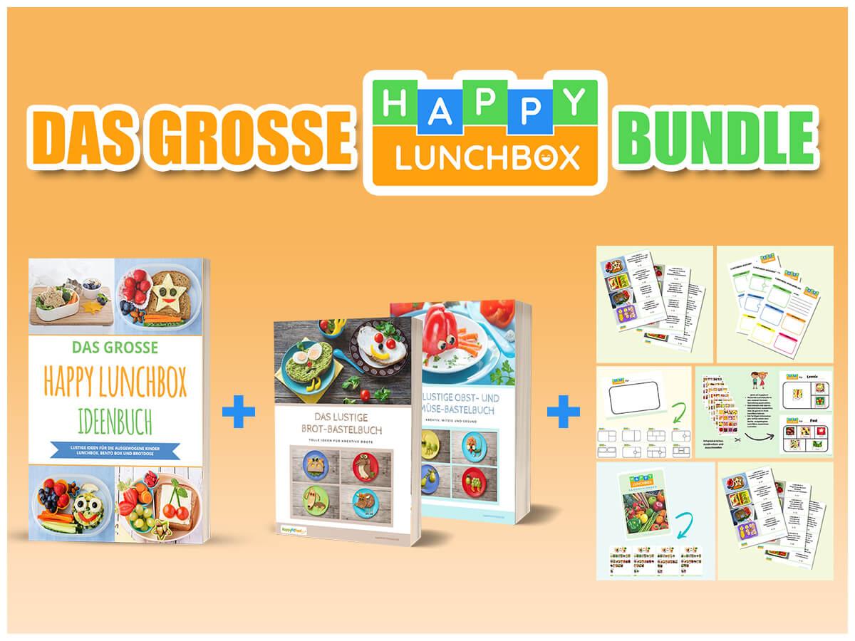 Das große Happy Lunchbox Bundle für die gesunde Pause