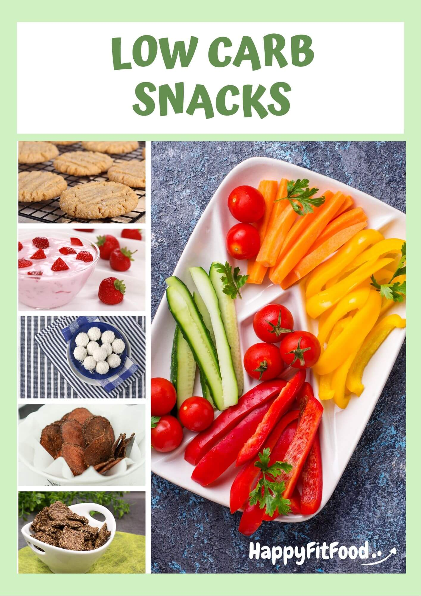 10 leckere Low Carb Snacks Bonus Ebook