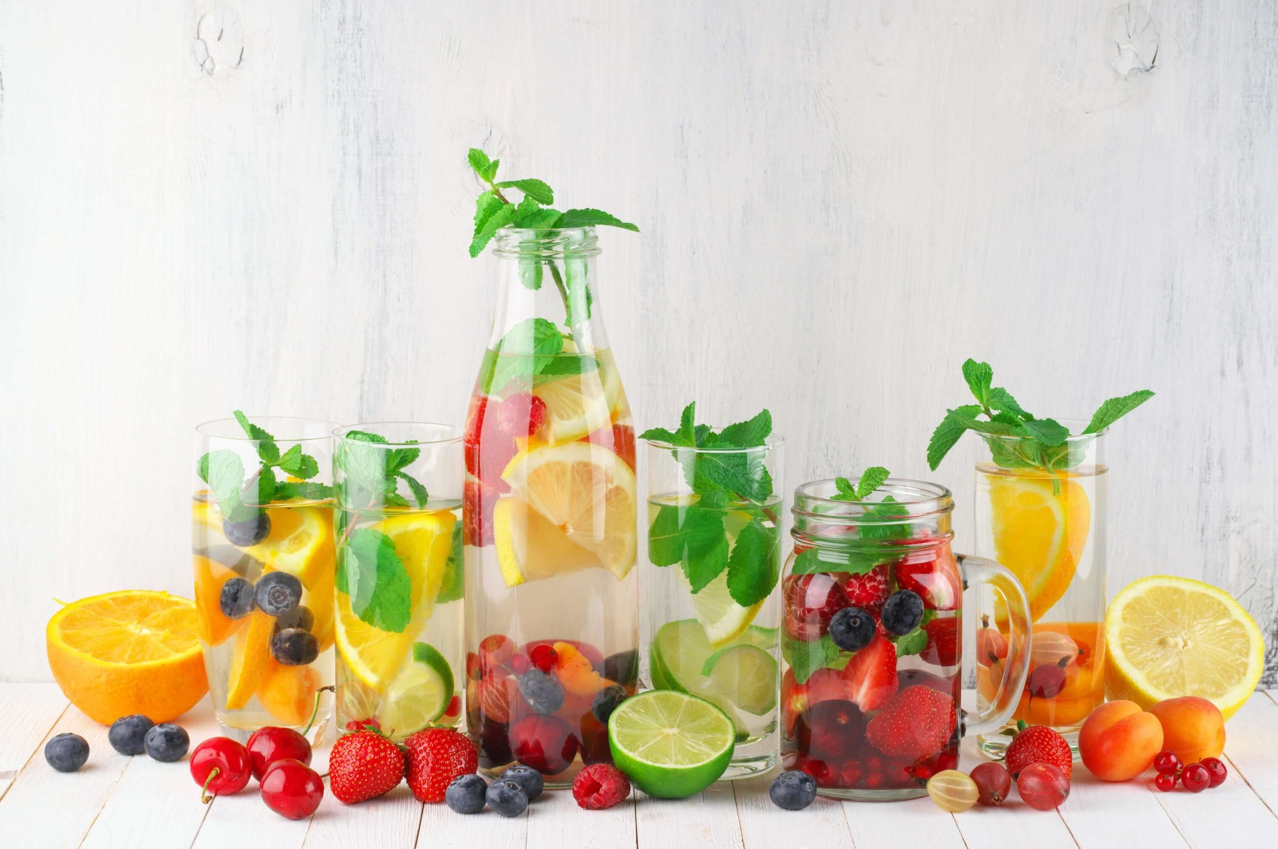 Fruit Infused Water - Wasser mit Geschmack
