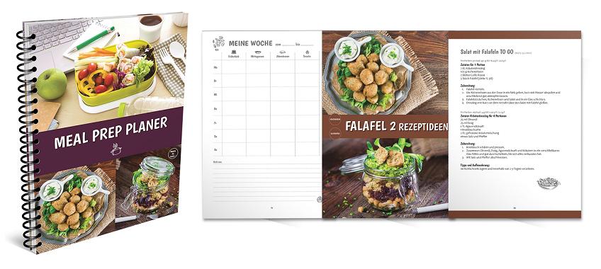 Meal Prep Planer Einblick ins Ebook