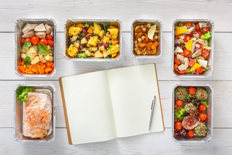 Meal Prep Planer Mahlzeiten planen und vorkochen