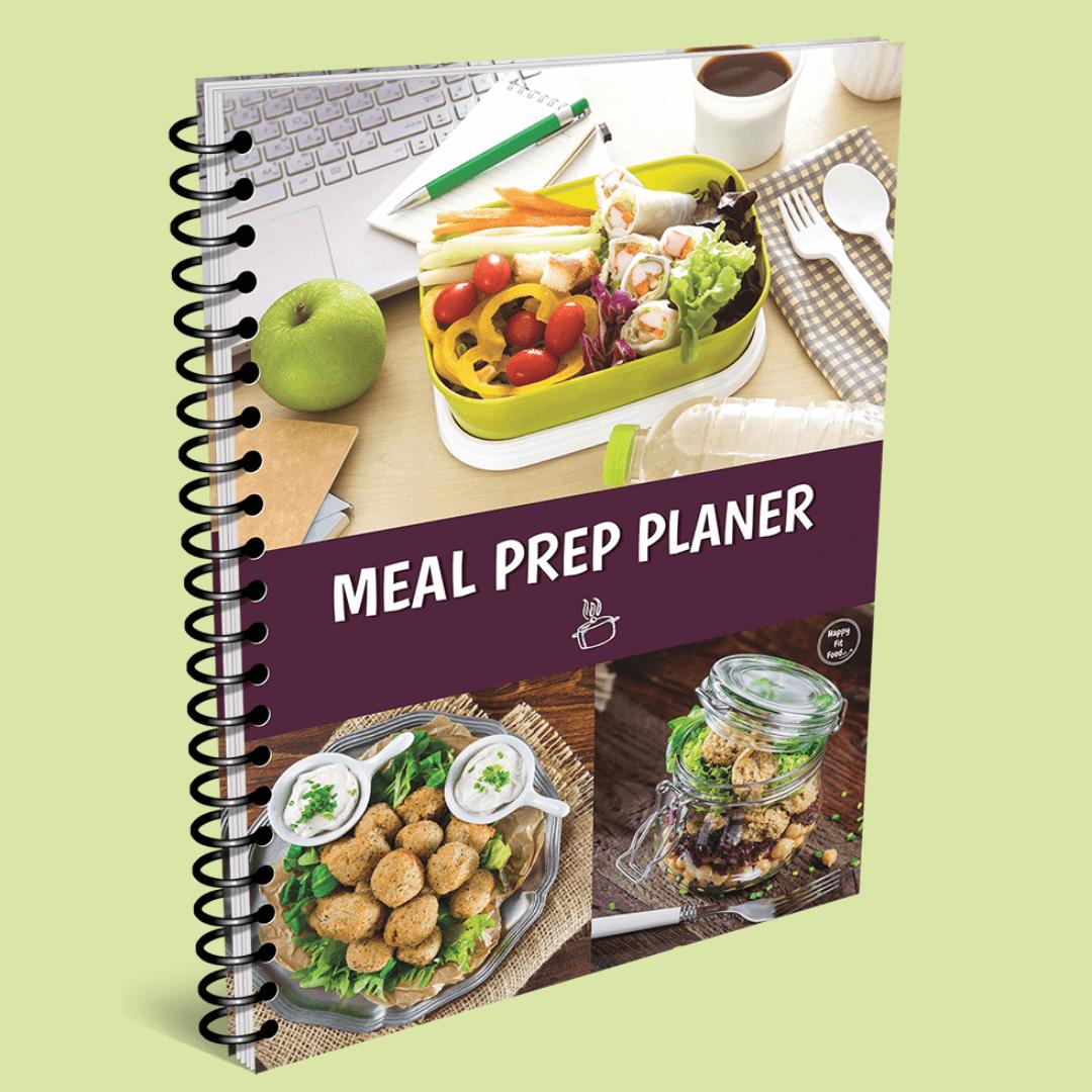 Meal Prep Planer Ebook zum Planen von Mahlzeiten