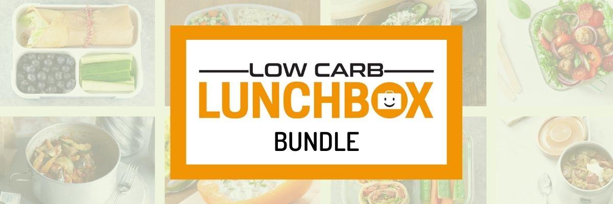 Das große Low Carb Lunchbox Bundle Vorstellung Banner