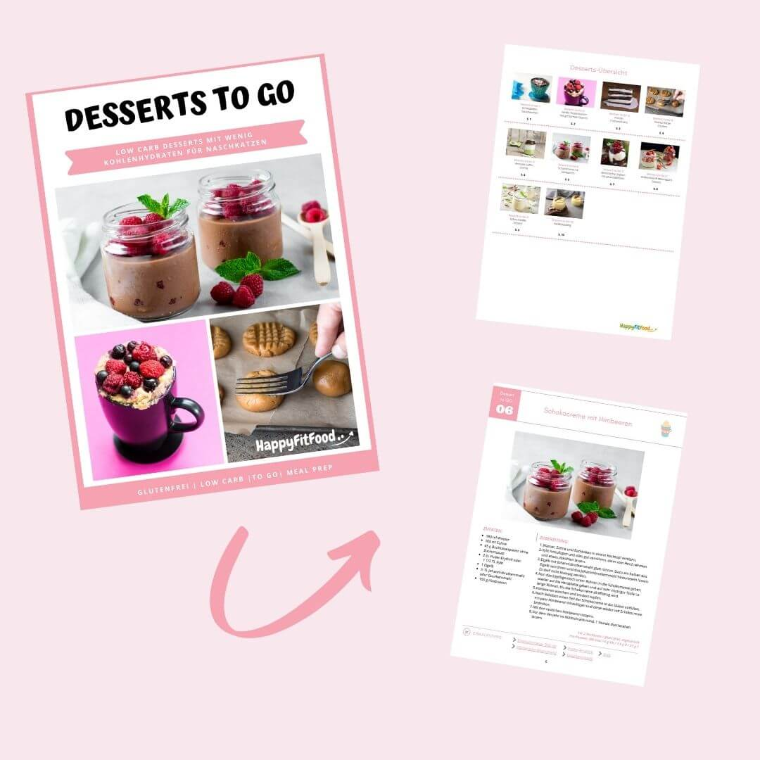 Low Carb Desserts to go E-book Inhalt