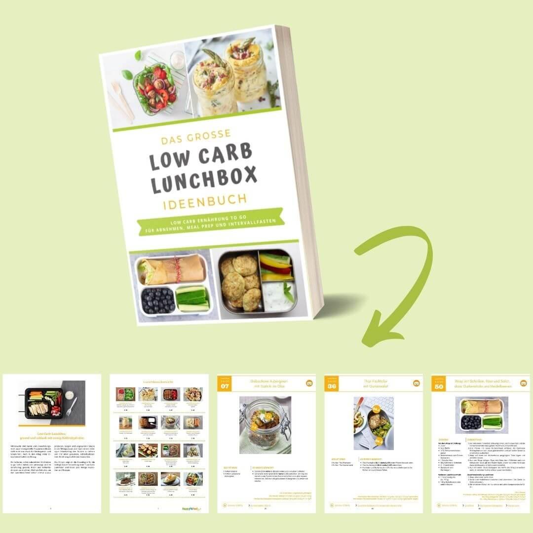 Das große Low Carb Lunchbox Ideenbuch Einblick