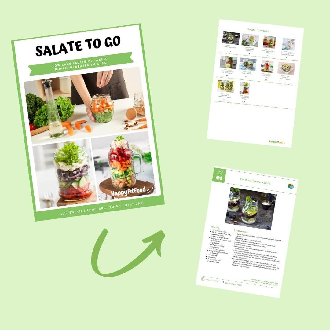 Low Carb Salate Essen to go E-book Inhalt