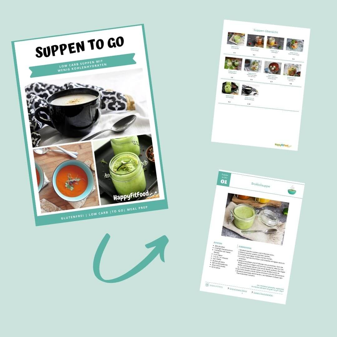 Low Carb Suppen to go E-Book Inhalt