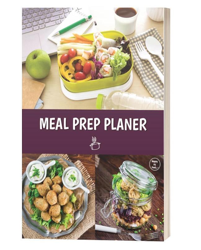 Meal Prep Planer Wochenplaner für das ganze Jahr E-book