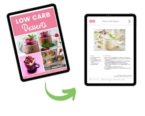 Low Carb Desserts Inhalt Vorschau