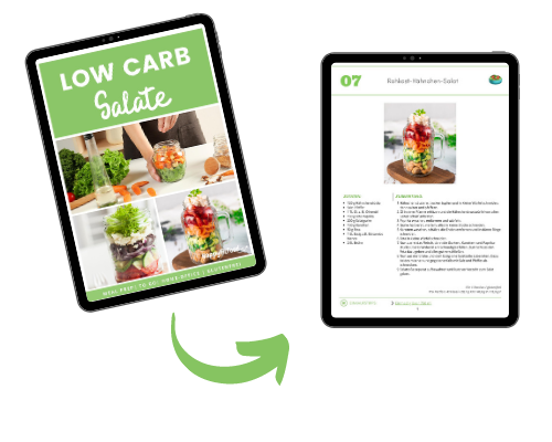 Low Carb Salate E-Book Inhalt Vorschau