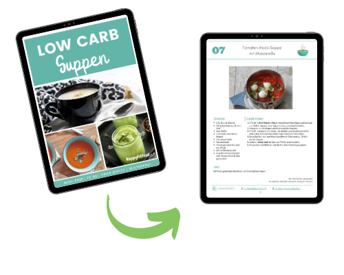 Low Carb Suppen E-book Inhalt Vorschau