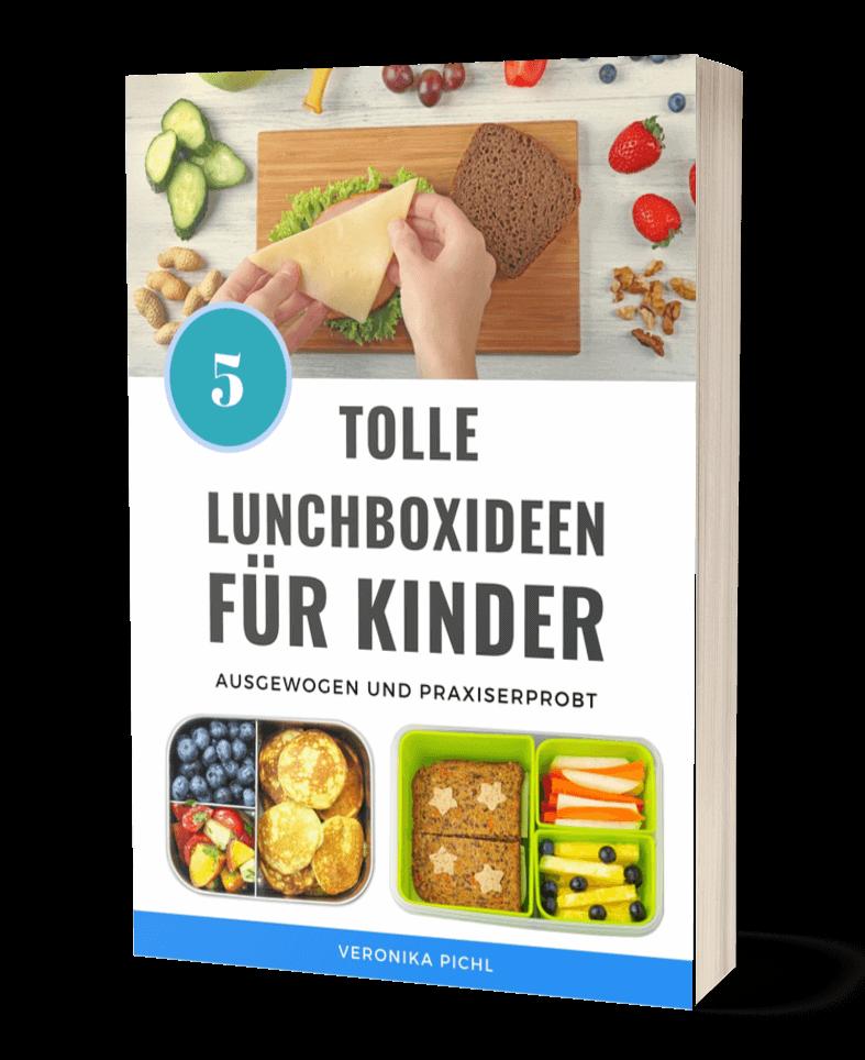 5 Lunchbox Ideen für Kinder E-book kostenlos