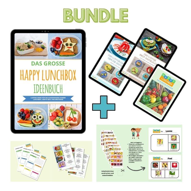 Happy Lunchbox Bundle gesunde Pause Kinder